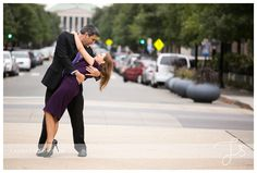 Downtown Raleigh Engagement Photos
