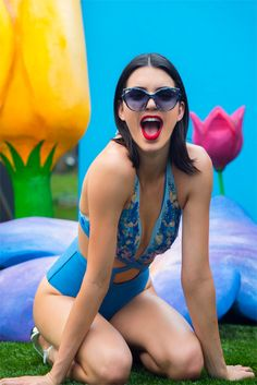 jennergallery: Kendall Jenner for La Perla | more at JENNERGALLERY