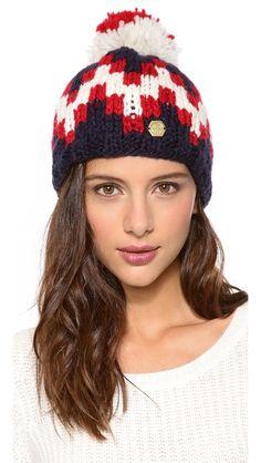 Intarsia #knit #beanie