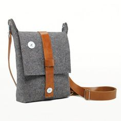 Felt Sling Bag now featured on Fab by Carga