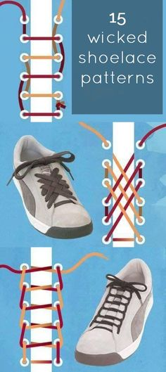 20 Best Cool Ways to Tie Shoelaces! images Tie shoelaces, Lanyards