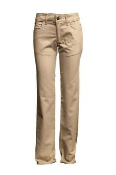 bb569803c814 Lapco FR 7 oz Ladies Khaki Uniform Pants Ultrasoft AC®