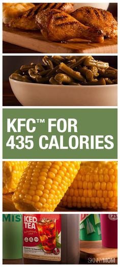 On the run and needing to pick up something quick for the family? Check out these KFC dinners under 500 calories!