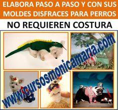 curso corte confeccion ropa perros disfraces sin costura mascotas moldes obsequio