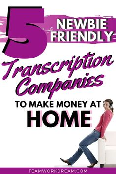 Want to know which transcription companies you can do daily transcription jobs for? You can do daily transcription from home as a newbie. Type and listen your way to making money online. #transcription #transcriptionservice #typingskills #typingideas #transcriptioncompanies #makemoneyathome #makemoneyonline #howtomakemoney #workfromhomeideas Earn Money From Home, Earn Money Online, Way To Make Money, Typing Skills, Typing Jobs, Online Work From Home, Work From Home Tips, Legit Online Jobs, Work Opportunities