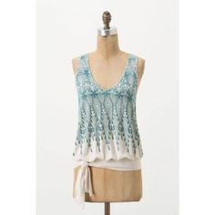 Anthro Spring Time Blouse Anthropologie Top | Gently Worn | In great condition | Too big for me now but it's a fantastic top!                                                                            Feel free to ask any questions prior to purchasing                                                              No trades, no lowball offers please Anthropologie Tops Blouses