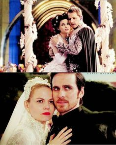 At least the curse didn't come during Snow and Charming's wedding like it did Emma and Killian's.