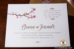 Modelo Envelope Bico convite Rives Tradition
