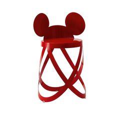 MICKEY'S RIBBON STOOL - Limited Edtion (Cappellini) | Design: Nendo, 2010