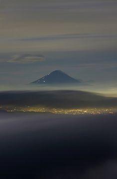 富士山 from 阿弥陀岳 mt fuji from amidadake-Japan