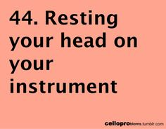 Cello Problems