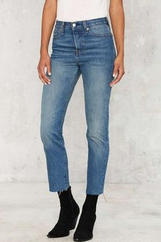 Levi's Wedgie Icon Button-Fly Jeans - Denim Throwbacks | Sh!rt Show | Back In Stock | Denim | All | Skinny