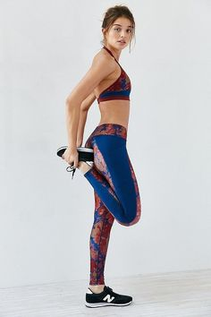 Gift these Without Walls floral cropped legging for holidays.
