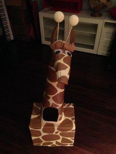 DIY Giraffe Costume & Cute No-Sew Giraffe Costume | Coolest Homemade Costumes | Pinterest ...