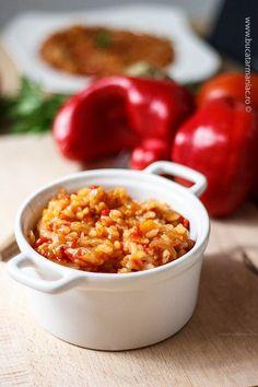 Ghiveci de legume cu orez ~ bucatar maniac
