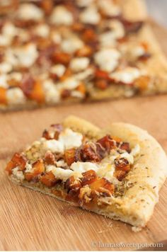 Harvest Pizza [RECIPE]  Fall Recipes : theBERRY