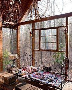 living room design and decor ideas - Internal Home Design Beautiful Space, Beautiful Homes, Beautiful Soup, Outdoor Spaces, Outdoor Living, Indoor Outdoor, Outdoor Bedroom, Outdoor Sauna, Interior Exterior