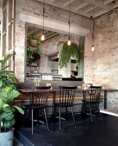 Hanging plants Remember the 70's when hanging terrariums were all the rage? Well they're making a comeback. Just like a low pendant over a dining table, you'll easily be able to anchor a space or create a focal point by hanging a little cluster of terrariums.