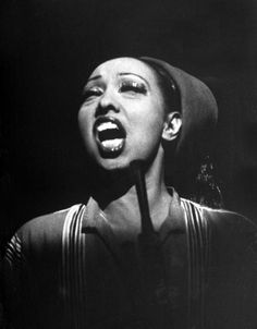 Josephine Baker, the Missouri native who became a legendary performer in Paris in the Twenties and Thirties.