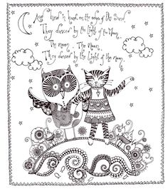 'The Owl and the Pussycat' by Hannah Davies