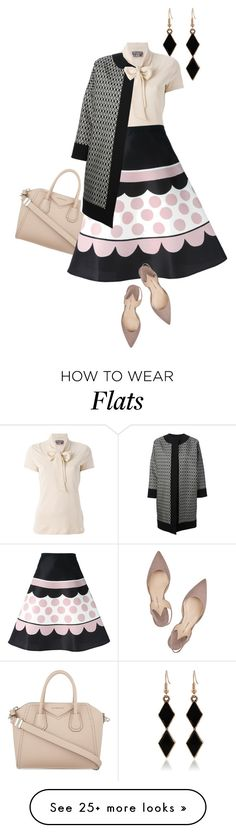 """""""muted fall"""" by bananya on Polyvore featuring Givenchy, Salvatore Ferragamo, RED Valentino, Paul Andrew and FAUSTO PUGLISI"""