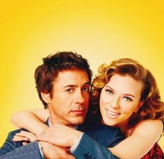 Robert Downey Jr. & Scarlett Johansson