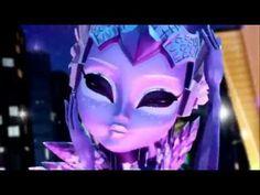 Monster High Boo York Clipe Oficial Estrelas Cadentes - YouTube