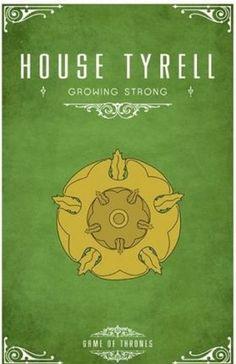 Дом Тиреллов - один из Великих Домов, правящим домом Простора. Их родовым замком является Хайгарден; на гербе отоброжена золотая роза на зелёном поле, а их девизом являются слова «Вырастая — крепнем». Бастардам Простора даётся фамилия «Флауэрс». Стали лордами Простора после того, как правивший Простором Дом Гарднеров был истреблён. Часто рассматриваются как «выскочки»; однако женщины Тиррелов отличаются проницательностью и мудрым правлением.