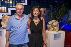 Junto a mi colega escultor Esteve