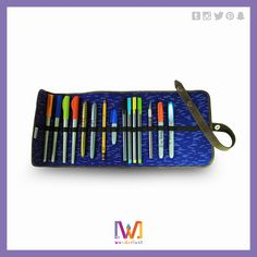 Handmade pencil case. More information: https://www.facebook.com/Wanderlustgt/?fref=ts     #guatemala #design #accessories #style #clothes #wanderlust #original #unique #personalized #inspiration #creative