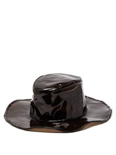 33c04fd7bfbd6 HOUSE OF LAFAYETTE HOUSE OF LAFAYETTE - MARCO 3 PVC FEDORA HAT - WOMENS -  BLACK