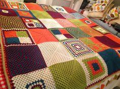 My fleece backed blanket