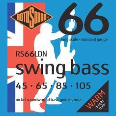 Was £23.95 > Now £15.95.  Save 33% off Rotosound Nickel Standard Gauge Roundwound Bass Strings (45 65 85 105) #48, #Accessories, #BassGuitarsGear, #DealScore0OutOf5, #MusicalInstruments, #Strings, #Under25