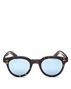 fd9748174df27 Toms Fin Mirrored Round Sunglasses