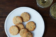 Fig & Rosemary Cocktail Cookies