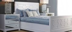bed and nightstand - candice olson collection 2012
