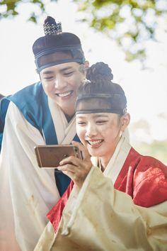 Park Bo Gum & Kim Yoo Jung in Moonlight Drawn by Clouds Kim Yu-jeong, Kim You Jung, Jung In, Jung Il Woo, Love In The Moonlight Kdrama, Park Bo Gum Moonlight, Moonlight Drawn By Clouds, Korean Actresses, Korean Actors