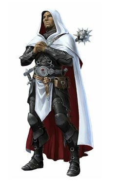 Human Male Cleric of Milani - Pathfinder PFRPG DND D&D d20 fantasy
