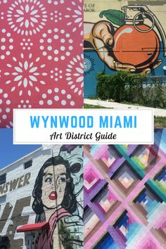 The Wynwood Miami Art District has become increasingly popular over South Beach as tourists flock to this area of town to get the best photos of Miami Art. Since I live in the area, a Wynwood Miami Art District Guide was easy for me to create. South Beach Miami, Miami Florida, South Florida, Florida Travel, Travel Usa, Florida Vacation, Orlando, Stuff To Do, The Journey