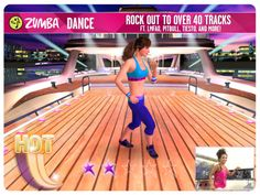 Crank up the volume and tone down the calories with the app Zumba Dance