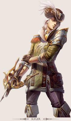 Game Character Design - Fantasy Art work by Hong yu cheng-16