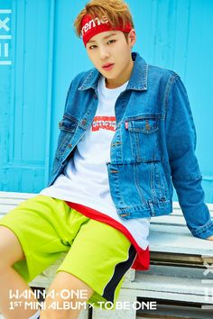 Wanna One 1×1=1 1st Mini Album × To Be One  Ha Sungwoon  Pink ver.