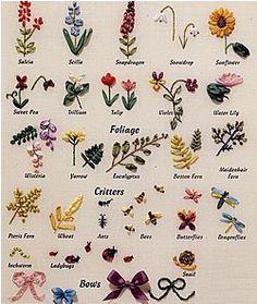 Silk Ribbon Embroidery Patterns