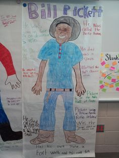 storyline Fourth Grade Social Studies This is a cool project because it allows the students to research a person and let them draw that person and share what they learned about this person. This would be good for a group project. 6th Grade Social Studies, Social Studies Activities, Teaching Social Studies, History Activities, Texas History, History Class, Teaching History, History Education, 4th Grade Classroom