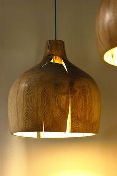 Oversized Pendant Lights Design: Cool Oversized Crack Bowl Pendant Lights By Kwon Jae Min ~ luciomorini.com Lamps Inspiration