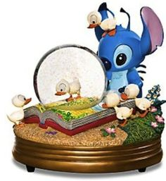 Lilo and Stitch Snow Globe