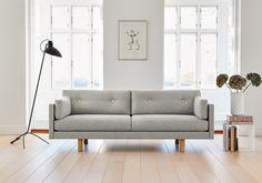 EJ 220-A sofa by Erik Jørgensen