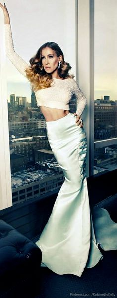 Sara Jessica Parker- One of my many style icons. Can't wait to see her new shoe line.