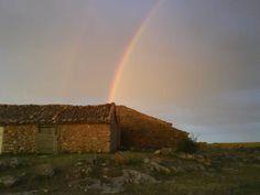 Arco Iris tras la tormenta en Torremocha de Ayllón