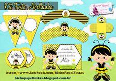 Casinha de Criança: Kit Festa Abelhinha Para Imprimir Grátis